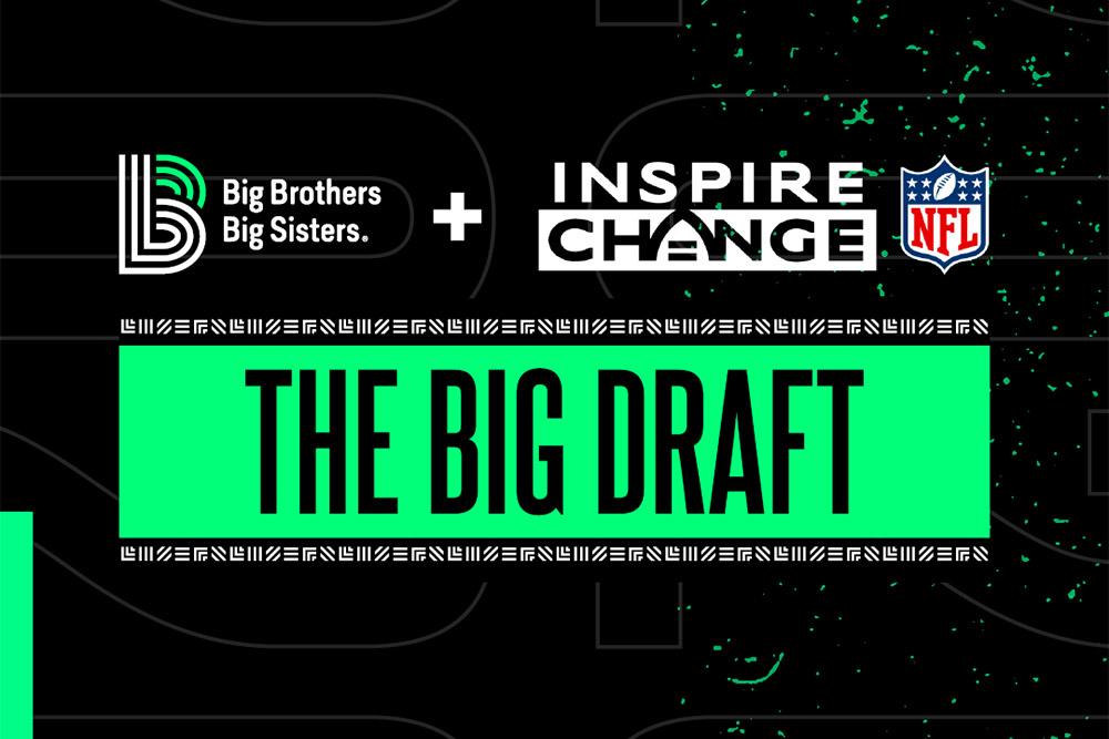 Big Brothers Big Sisters of Northwestern Ohio & NFL Promote the Inspire Change Initiative