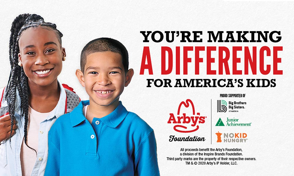 Arby's Foundation Grant banner